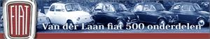 Van der Laan Fiat 500 onderdelen