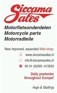 Siccama Sales Motorfietsonderdelen