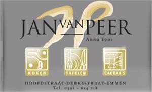 Jan van Peer koken, tafelen, cadeau's