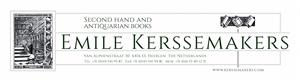 Boekhandel-Antiquariaat Emile Kerssemakers